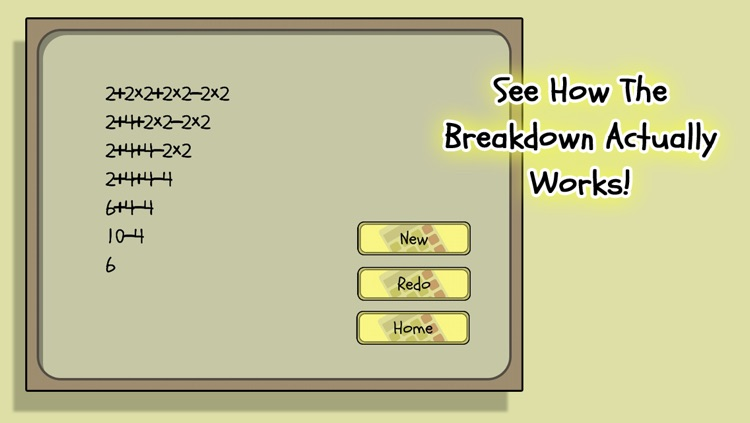 OoO Calc: Order of Operations Calculator screenshot-3