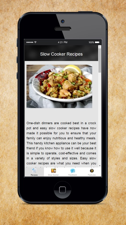Slow Cooker Recipes - Sweet Slow Cooker Recipes and Crockpot Desserts