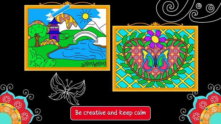 Balance art class: coloring book for teens and kids PRO