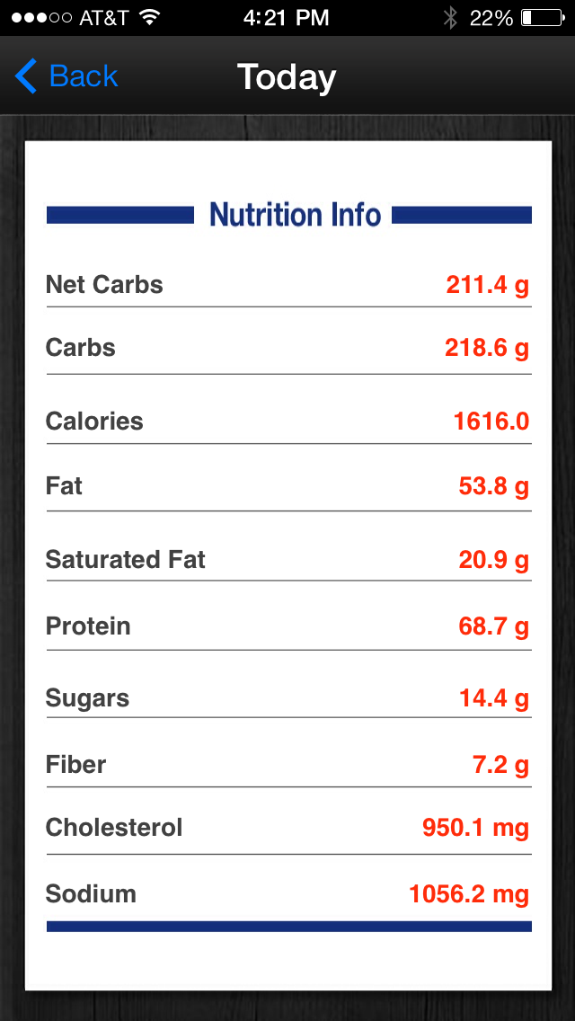Diabetes App Lite - blood sugar control, glucose tracker and carb counterScreenshot of 4
