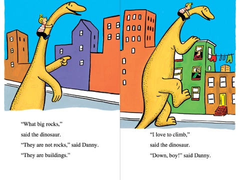 danny and the dinosaur by syd hoff on apple books