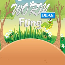 Activities of Worm Fling Play For Kids