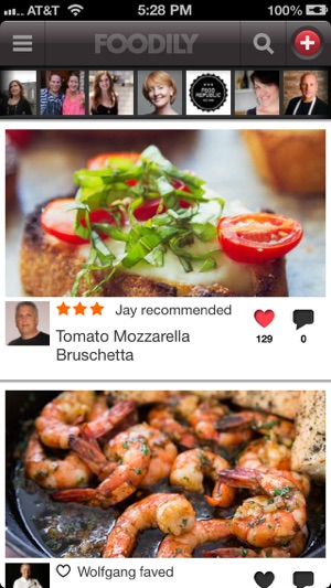 Foodily recipe sharing with friends on the app store iphone screenshots forumfinder Image collections