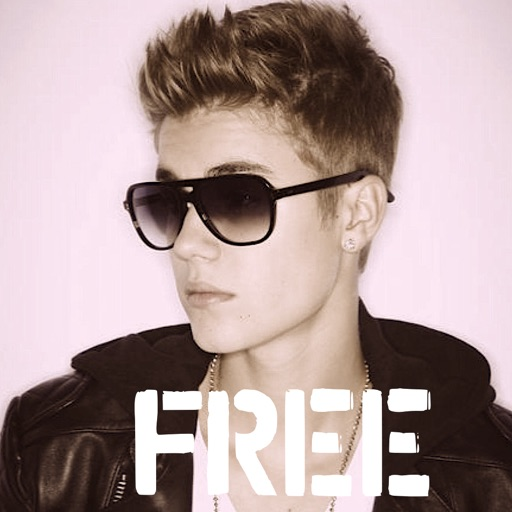 Photos, Videos, News, Animated Slides & More : Justin Bieber edition iOS App