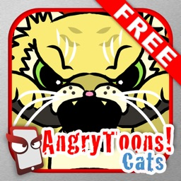 AngryToons Cats Free - The Angry Cartoon Cat Simulator