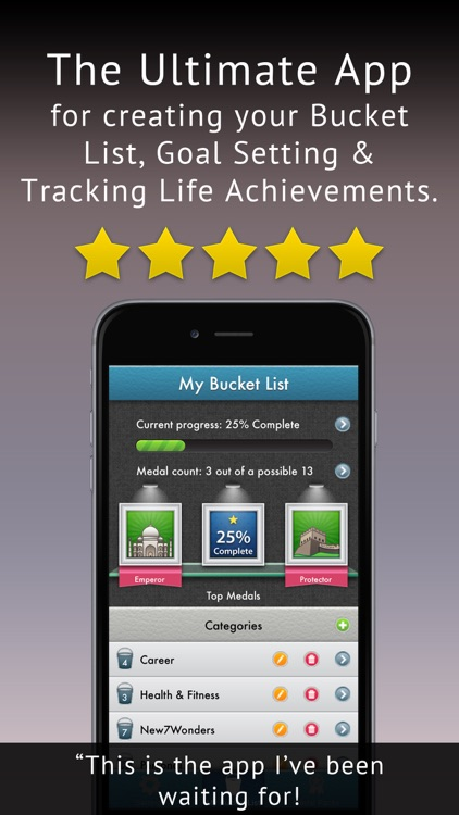 My Ultimate Bucket & To-Do List: Your Life Goals, Dreams & Wishes Progress Tracker + Organizer