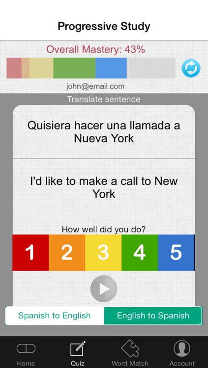 The Spanish Bee - Learn Spanish Grammar and Practice screenshot-3