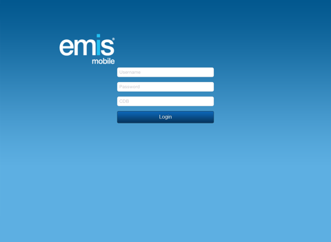 EMIS Mobile screenshot one