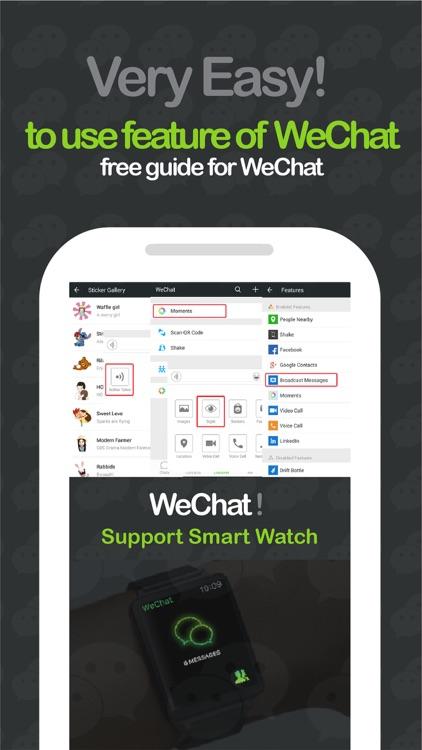 Guide for WeChat Messenger screenshot-4
