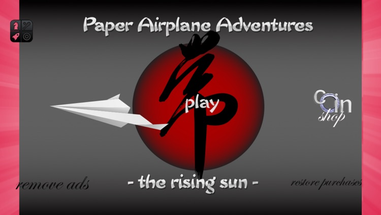 Paper Airplane Adventures - The Rising Sun
