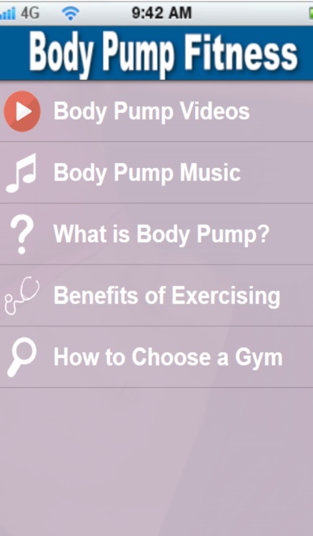 Body Pump+:Learn Body Pump Training The Easy Way screenshot-1