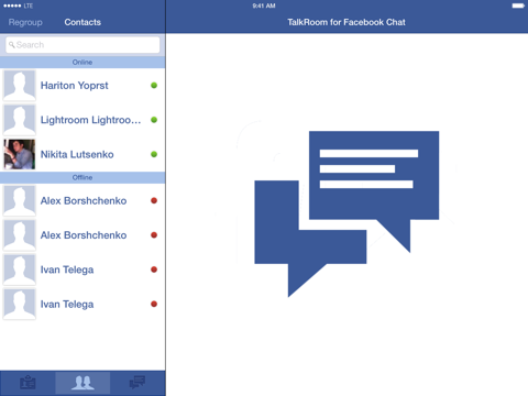 TalkRoom for Facebook Chat with Push   App Price Drops