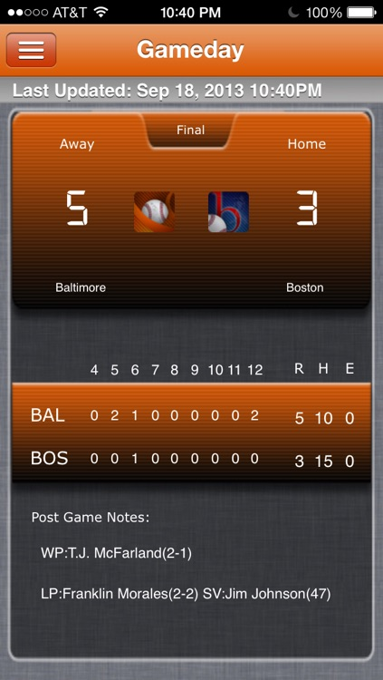 Baltimore Baseball Live