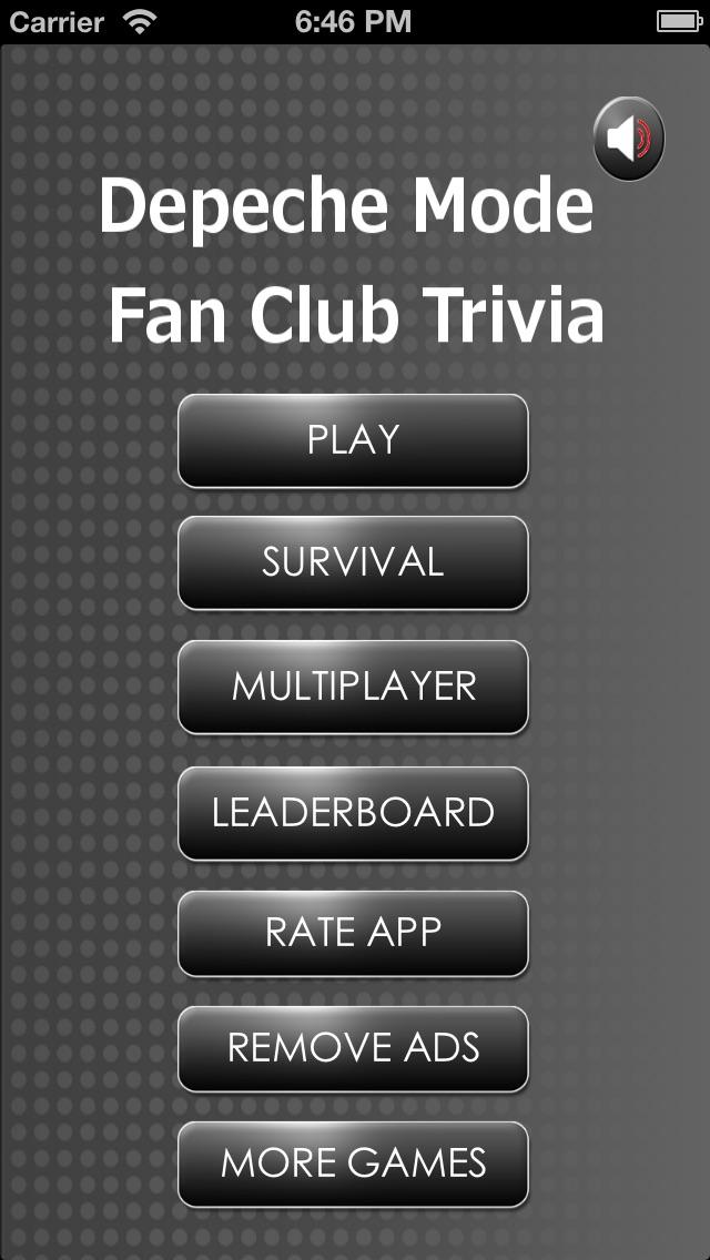 Trivia Fan Club – Depeche Mode Edition Free Multiplayer Quiz