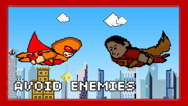 Pixel Heroes - The rocket man fighting super villains screenshot-3
