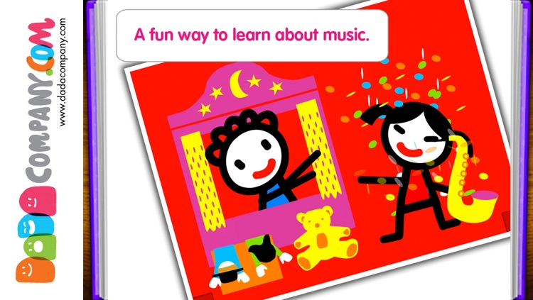 D5EN5: The Instruments - An Interactive Game Book for babies and toddlers screenshot-4
