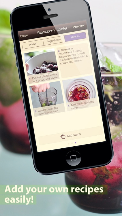 CookWizMe: cooking is easy with step-by-step photo recipes!
