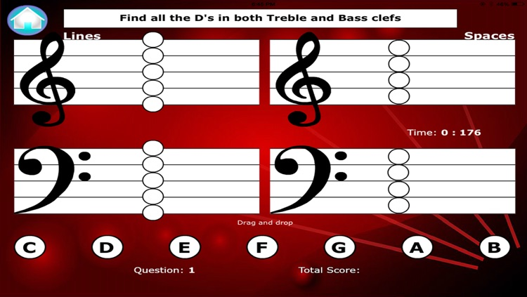 Notes for Piano: Sight reading and Ear training Free screenshot-4