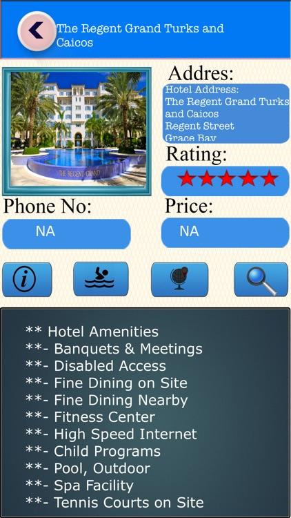 Turks and Caicos Islands Offline Map Travel Guide screenshot-3