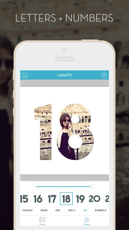 LetterFX Pro - Word Frames for Photos (Instagram edition) screenshot-3