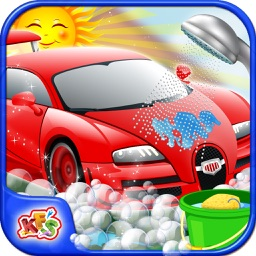 Sports Car Wash – Repair & cleanup vehicle in this spa salon game for kids