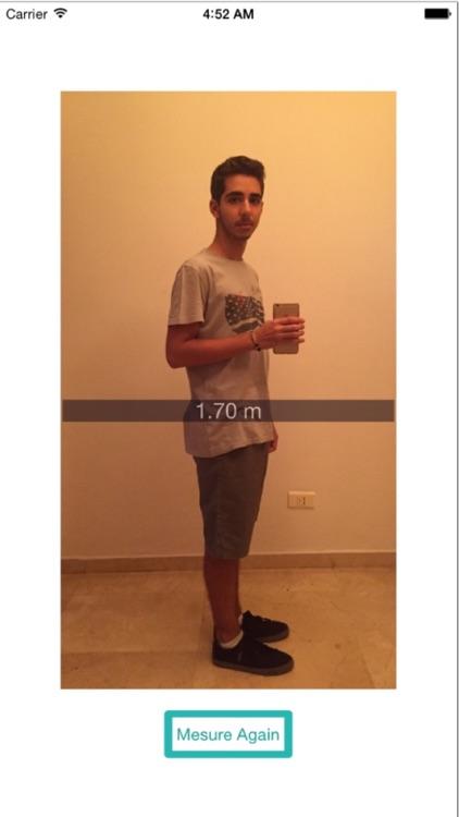 Selfie Measure screenshot-4