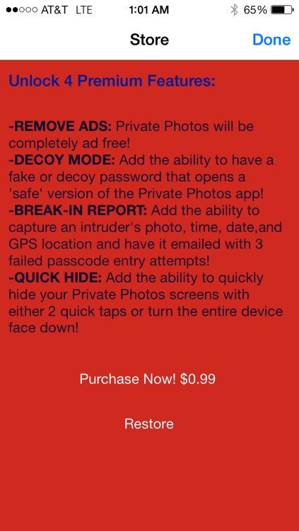 EZ Private Photos:The Ultimate Secret Photo Organizer screenshot-3