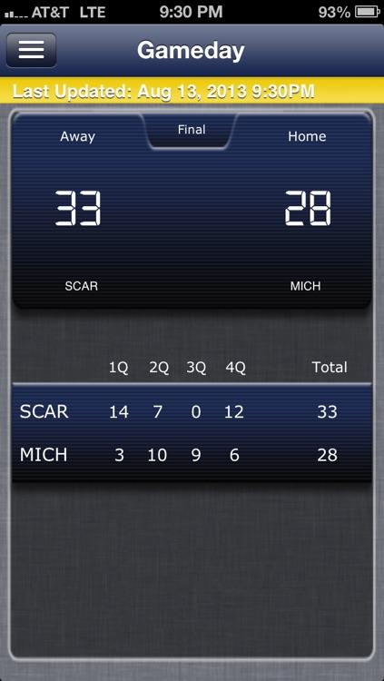 Michigan Football Live screenshot-4