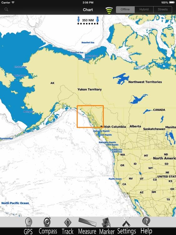 Alaska SE Nautical Charts Pro screenshot-3