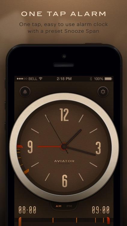 Snoozr Aviator - Smart Vintage Alarm Clock