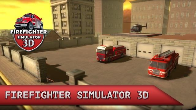 Firefighter Simulator 3D Screenshot