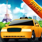 шофер! сумасшедший французский Париж такси путешествия аэропорт - бесплатно icon