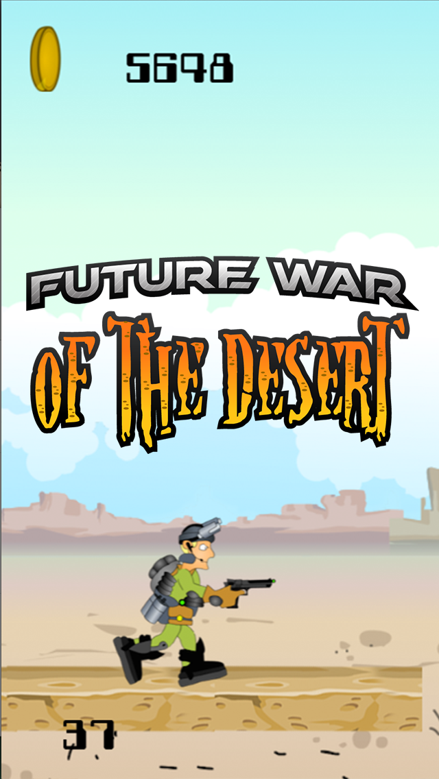 A Future War of the Desert – Ultimate Soldier Shooting