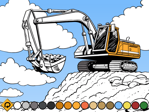 Kids Vehicles: Construction HD for iPadのおすすめ画像3