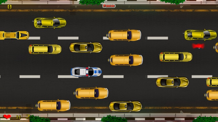 Police Emergency Vehicle Car Rush : The New-York Taxi Traffic Jam Madness - Free Edition