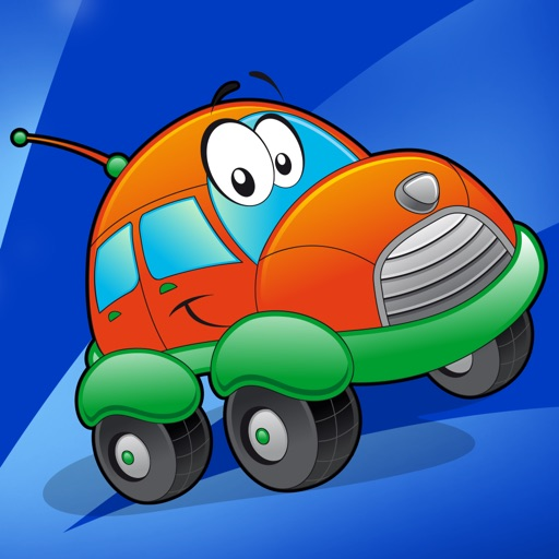A Game of Cars and Vehicles for Children Age 2-5: Learn for Pre-school & Kindergarten iOS App