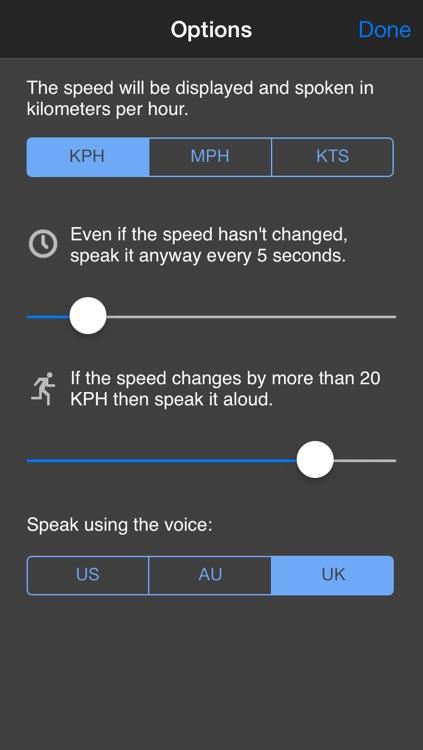 Speed Speak - Talking Speedometer