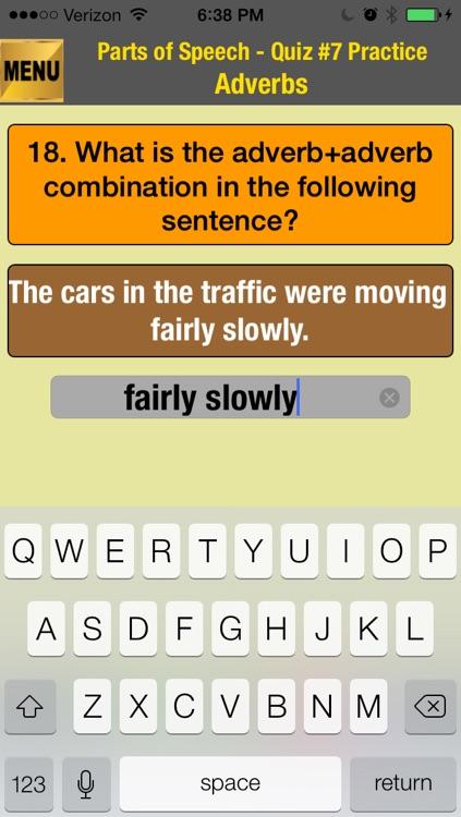 easyLearn English Grammar - Parts of Speech Lite