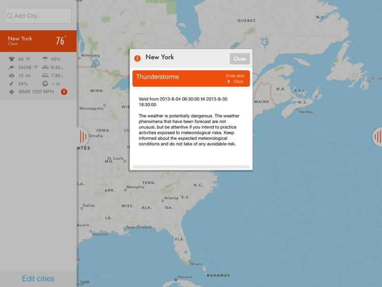 NOAA Radar & Hurricane inFocus Free - by Clear Day™ (Storm Alerts, Hurricane Tracker & Weather Forecast) screenshot-4