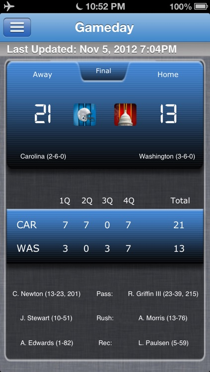 Carolina Football Live screenshot-0