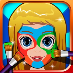 Baby Face Paint Makeover Spa - fashion salon doctor & little games for kids (boys & girls)