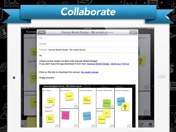 Canvas Model Design - Build your Startup screenshot-4