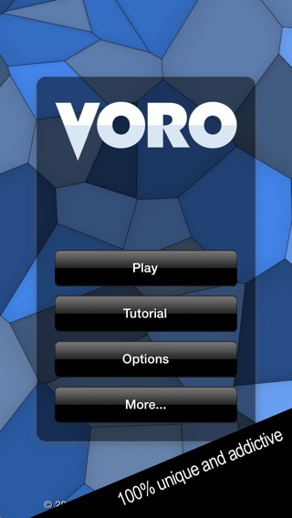 Voro - 100% unique and addictive Screenshot