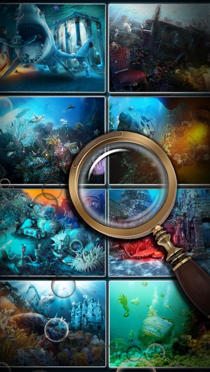 Hidden Objects:  Deep Ocean Mysteries