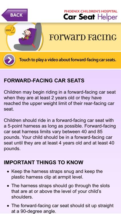 Car Seat Helper screenshot-4