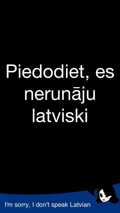 Lingopal Latvian LITE - talking phrasebook