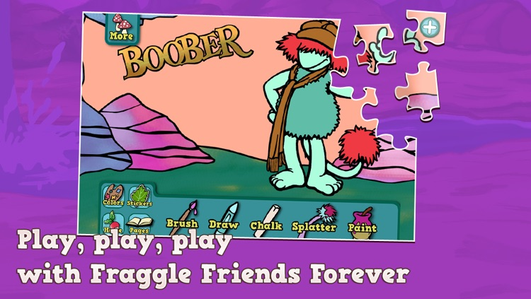 Fraggle Friends Forever Puzzle & Play screenshot-4