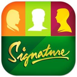The Signature Selfies App