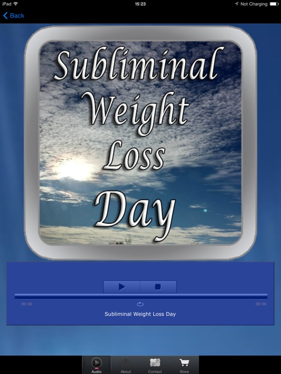 Subliminal Weight Loss Day for iPad screenshot-1