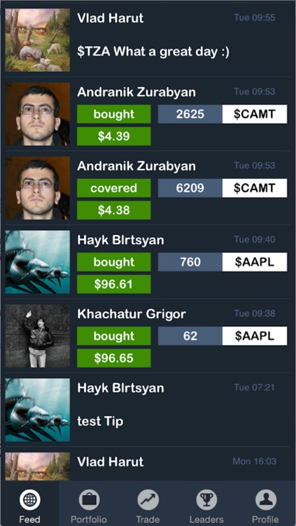ggfinances - Stock Market Game